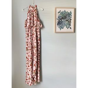 Lovers + Friends Floral Maxi Dress Medium